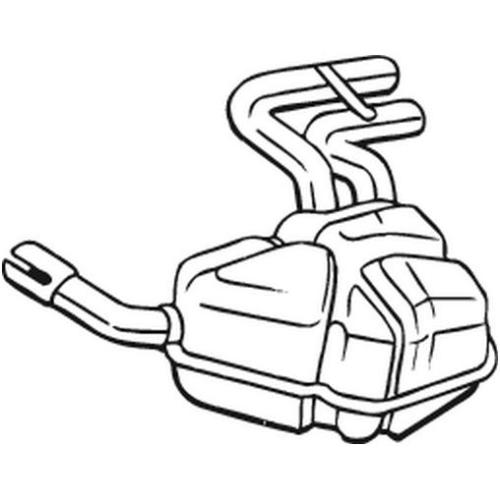 Endschalldämpfer BOSAL 247-041 MINI