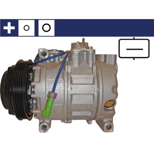Compressor, air conditioning MAHLE ACP 1007 000S AUDI VAG CUPRA