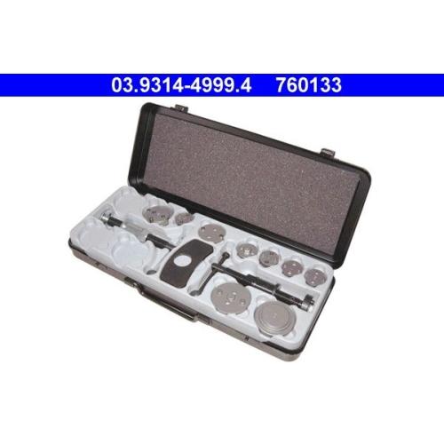 Dreh-/Rückstellwerkzeugsatz, Bremssattelkolben ATE 03.9314-4999.4