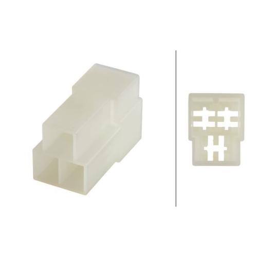 Plug Housing HELLA 8JD 008 152-031 SCANIA