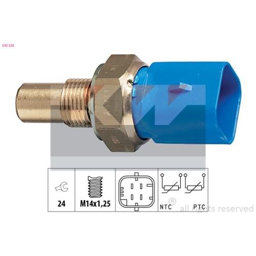 Sensor, Kühlmitteltemperatur KW 530 320 Made in Italy - OE Equivalent