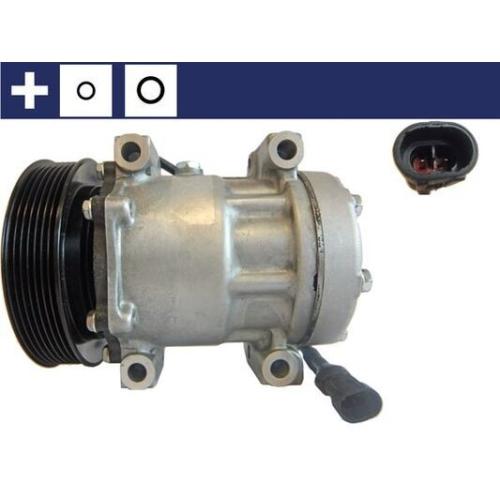 Kompressor, Klimaanlage MAHLE ACP 165 000S DAF