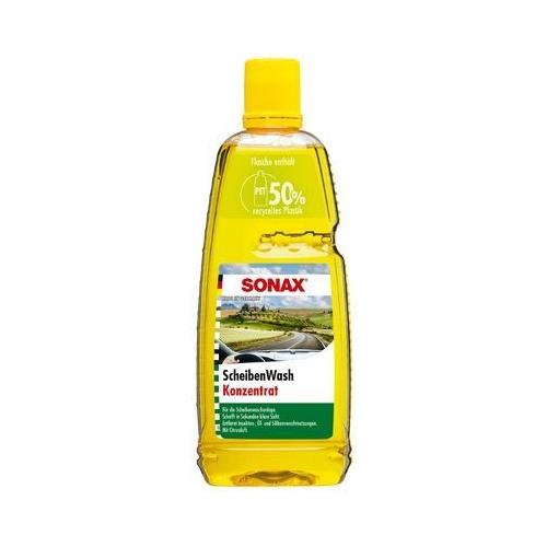 SONAX ScheibenWash Konzentrat mit Citrusduft Reinigungskonzentrat 1 Liter 02603000