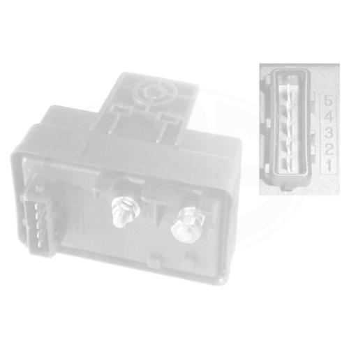 Control Unit, glow plug system ERA 661323 CITROËN FIAT PEUGEOT HITACHI