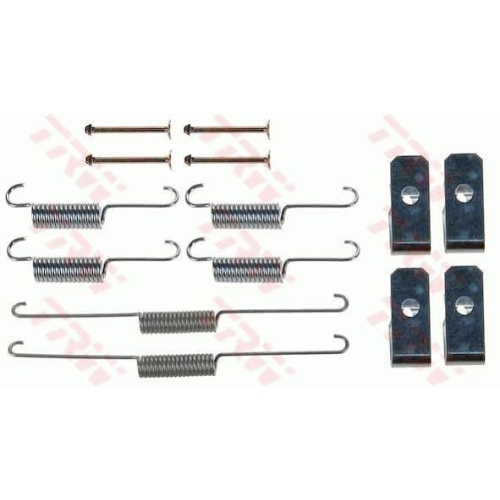 Accessory Kit, brake shoes TRW SFK229 SUZUKI