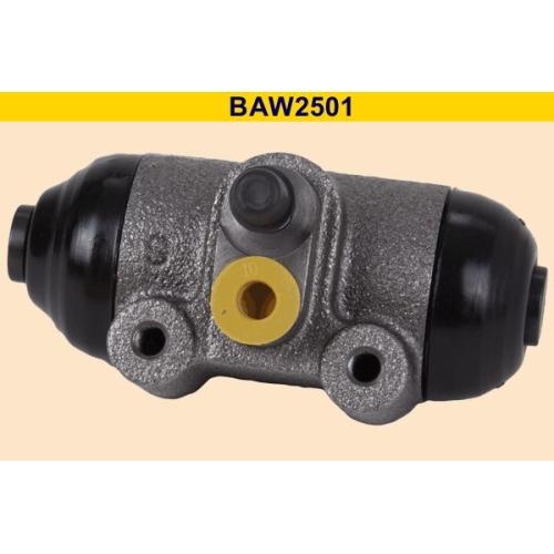 Wheel Brake Cylinder BARUM BAW2501 CITROËN FIAT PEUGEOT RENAULT