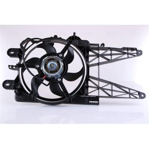 Fan, radiator NISSENS 85158 FIAT
