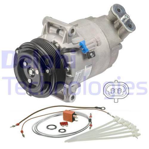 DELPHI Kompressor, Klimaanlage TSP0155802