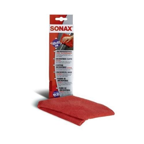SONAX Microfasertuch Außen - der Lackpflegeprofi 04162000