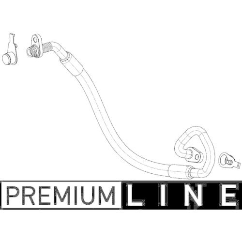 High Pressure Line, air conditioning MAHLE AP 101 000P BEHR *** PREMIUM LINE ***