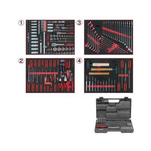 Tool Set KS TOOLS 713.0515