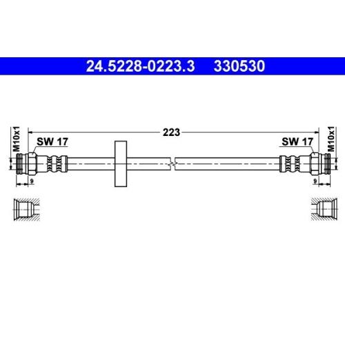ATE Bremsschlauch 24.5228-0223.3