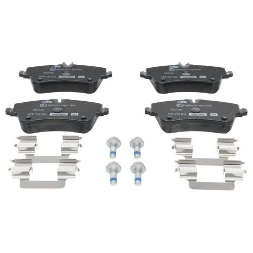 Brake Pad Set, disc brake ATE 13.0460-2726.2 MERCEDES-BENZ