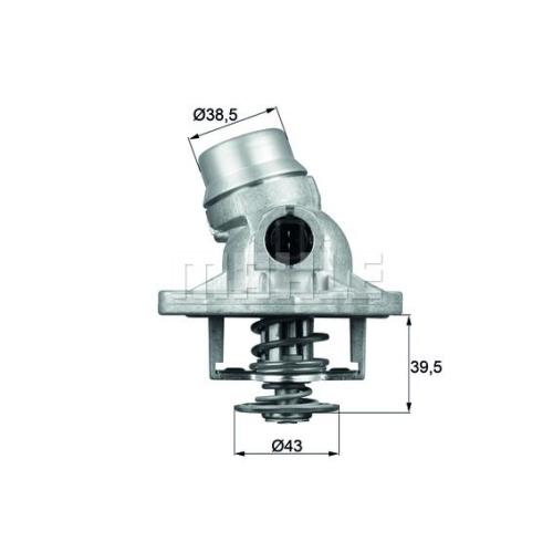 BEHR THERMOT-TRONIK Thermostat, coolant TM 12 105