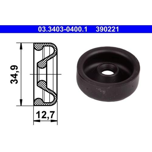 Manschette, Radbremszylinder ATE 03.3403-0400.1 BUESSING FORD HANOMAG STEYR