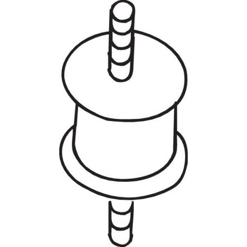 Gummistreifen, Abgasanlage BOSAL 255-473 OPEL ROVER