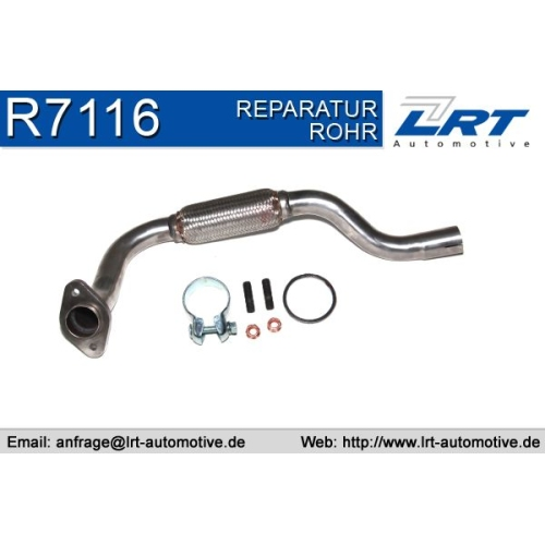 LRT Repair Pipe, catalytic converter R7116