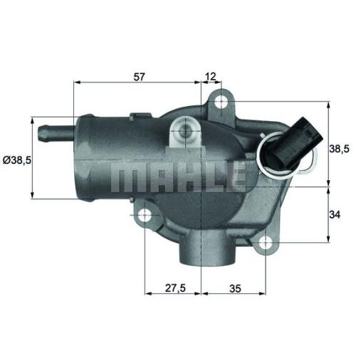 Thermostat, Kühlmittel BEHR TI 30 92 MERCEDES-BENZ