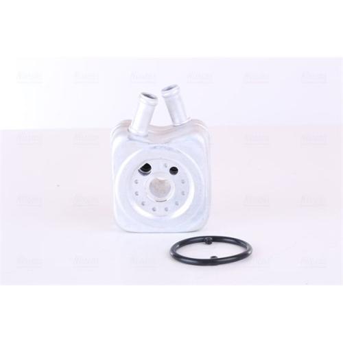 Oil Cooler, engine oil NISSENS 90606 AUDI SEAT SKODA VW