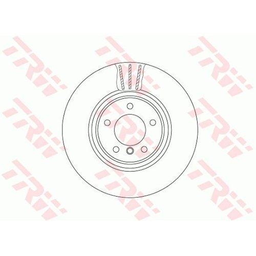 Brake Disc TRW DF6609S BMW