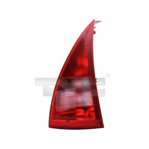 Combination Rearlight TYC 11-0233-01-2 CITROËN