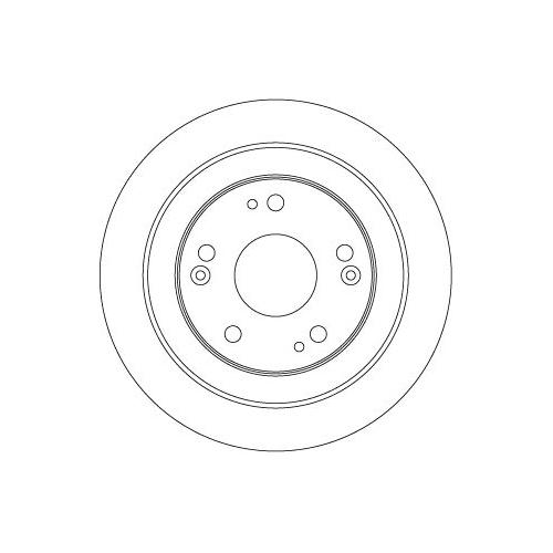 Brake Disc TRW DF6526 HONDA