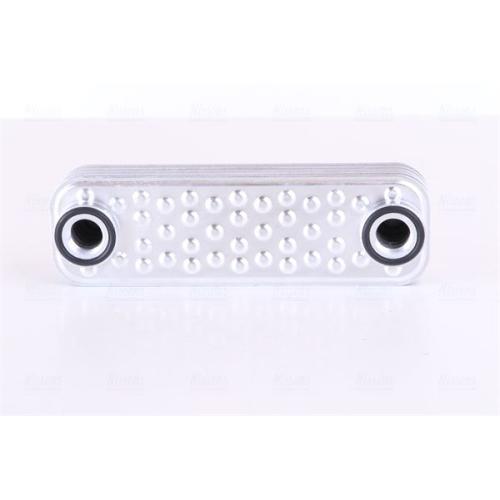 Oil Cooler, engine oil NISSENS 90997 LAND ROVER