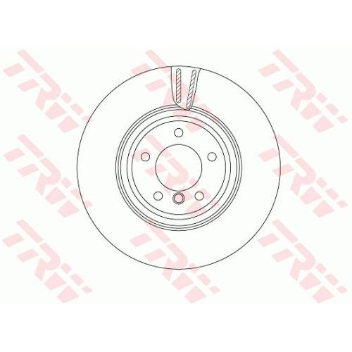 TRW Brake Disc DF4775S