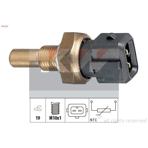 Sensor, Öltemperatur KW 530 255 Made in Italy - OE Equivalent AUDI SKODA VW