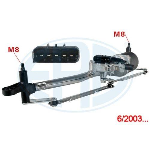 Scheibenreinigungsanlage ERA 460024A FIAT