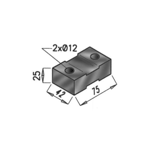 Gummistreifen, Abgasanlage DINEX 50912 MERCEDES-BENZ