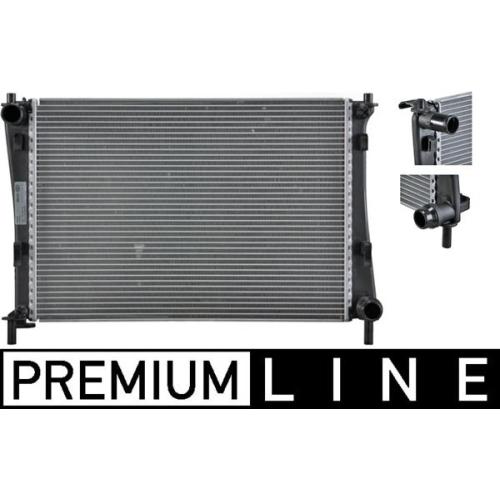 Kühler, Motorkühlung MAHLE CR 1355 000P BEHR *** PREMIUM LINE *** FORD MAZDA