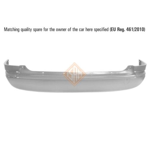 ISAM 0712122 Stoßfänger Stoßstange hinten für Opel Zafira A