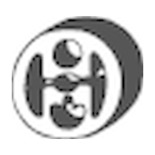 Rubber Strip, exhaust system BOSAL 255-090 MERCEDES-BENZ