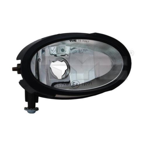 Fog Light TYC 19-0867-01-2 MAZDA