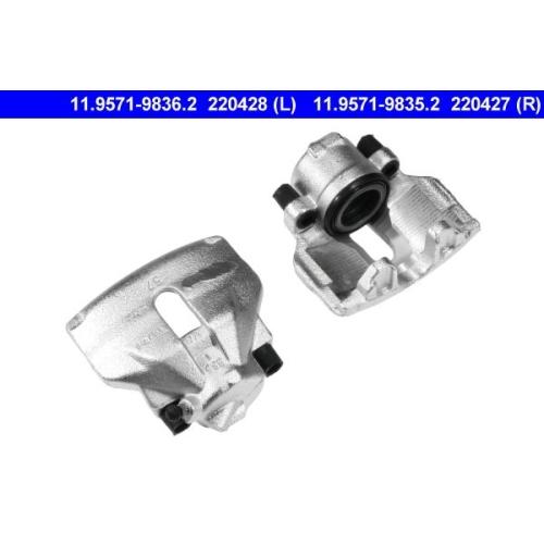 Brake Caliper ATE 11.9571-9836.2 SEAT SKODA VAG