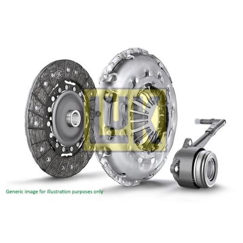 Kupplungssatz LuK 623 2131 33 LuK RepSet Pro FORD