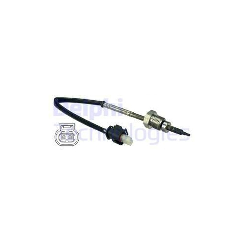 Sensor, Abgastemperatur DELPHI TS30052 MERCEDES-BENZ