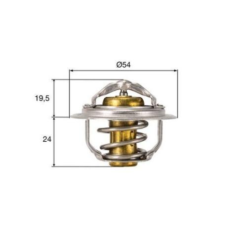 Thermostat, coolant MAHLE TX 212 82D AUDI VAG CUPRA