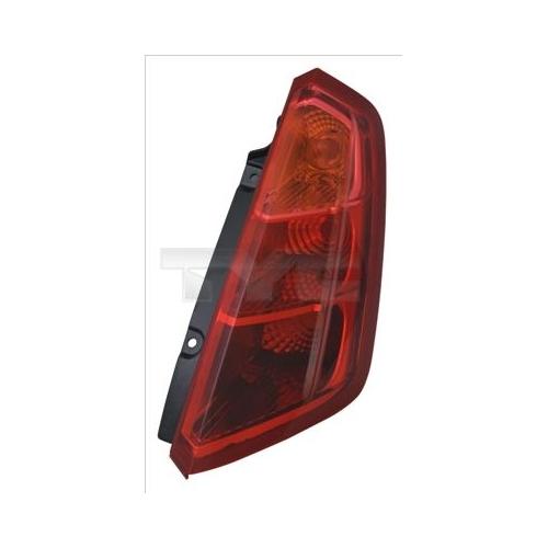 Combination Rearlight TYC 11-12280-01-2 FIAT