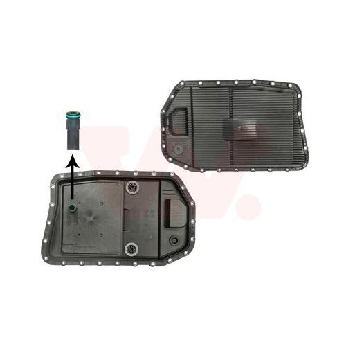 Ölwanne, Automatikgetriebe VAN WEZEL 0667071 BMW