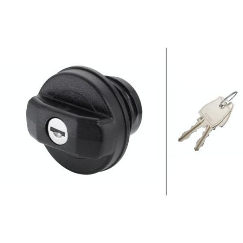 Sealing Cap, fuel tank HELLA 8XY 006 481-001 NISSAN