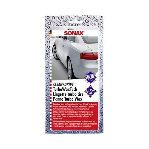 SONAX Microfasertuch Clean&Drive TurboWaxTuch 40x50 1 Stück 04140000