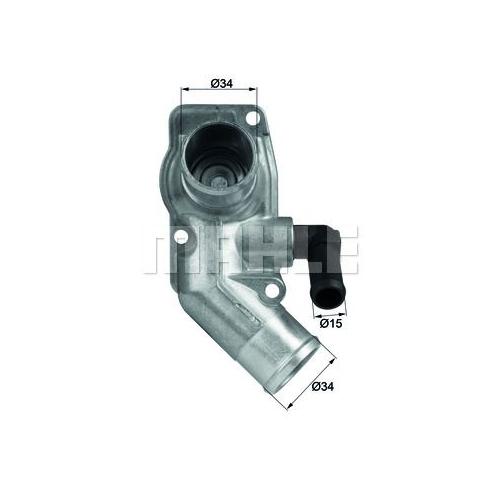 Thermostat, coolant BEHR TI 43 92D GMC OPEL VAUXHALL