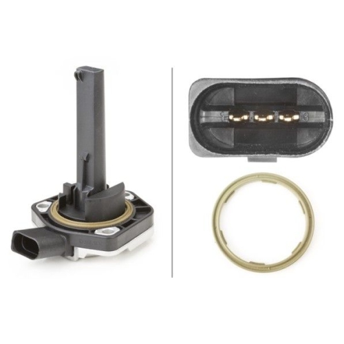 Sensor, Motorölstand HELLA 6PR 008 079-081 AUDI PORSCHE SEAT SKODA VW