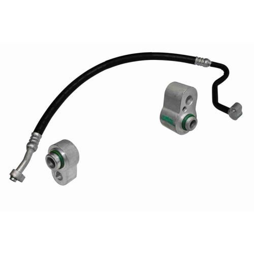 High Pressure Line, air conditioning VEMO V15-20-0022 Original VEMO Quality AUDI