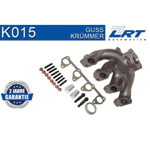 Krümmer, Abgasanlage LRT K015 OPEL