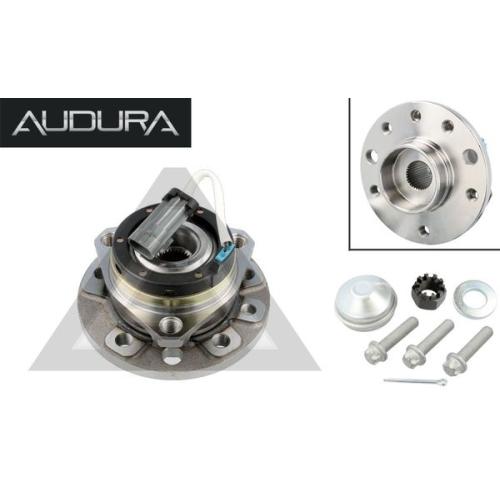 1 Radlagersatz AUDURA passend für OPEL VAUXHALL GENERAL MOTORS AR11126