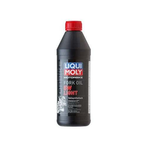 LIQUI MOLY Motorbike Fork Oil 5W light 1 Liter 2716