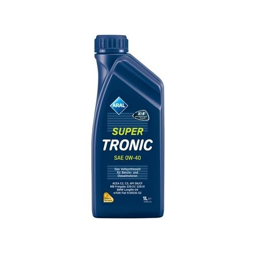 ARAL Motoröl SuperTronic 0W-40 1 Liter 14F800